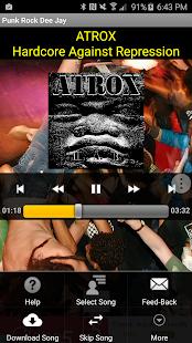 Punk Rock DJ - Music Player Screenshot 2