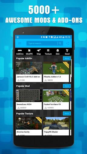 Mods for MCPE 1.15.1 screenshots 1