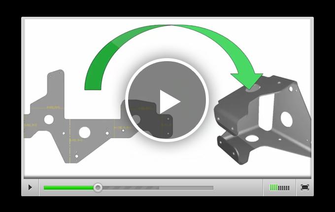 Преобразование модели из 2D в 3D в RADAN 3D