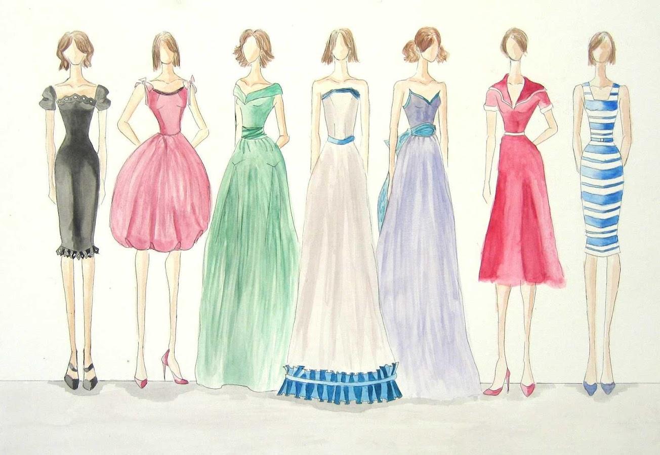 Fashion sketches new fashion sketches - Draw Fashion Sketches Screenshot