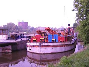 Photo: die Odra bei Breslau