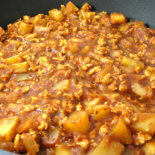 Low Fat Barbecue Turkey Chili, Potato Skillet