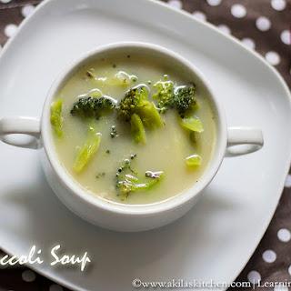 How to make Broccoli Soup.