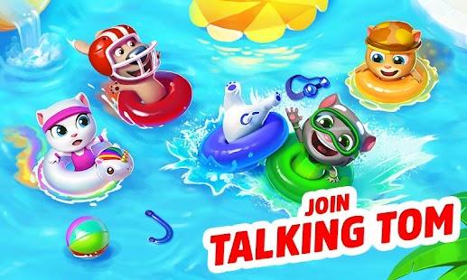 Talking Tom Pool Screenshot