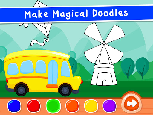 Coloring Games for Kids - Drawing & Color Book  screenshots 12