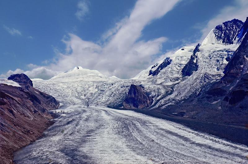 Grossglockner - Il ghiacciaio di romano