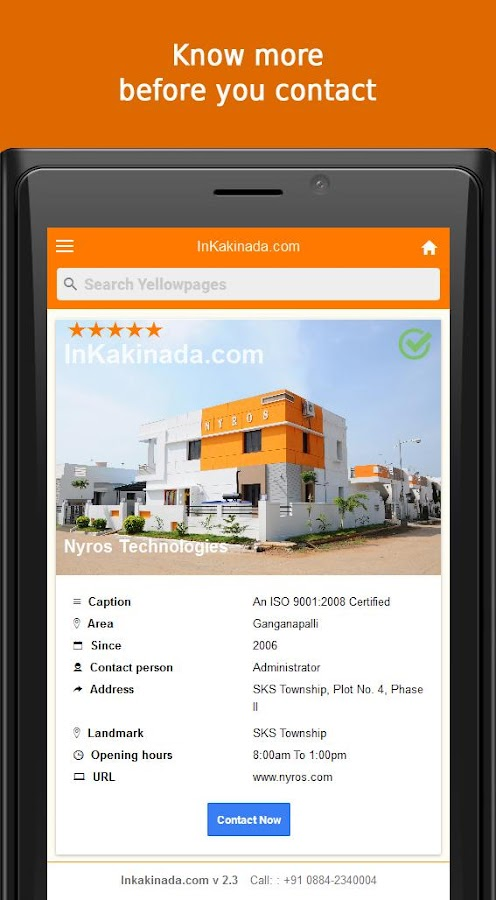 InKakinada.com- screenshot