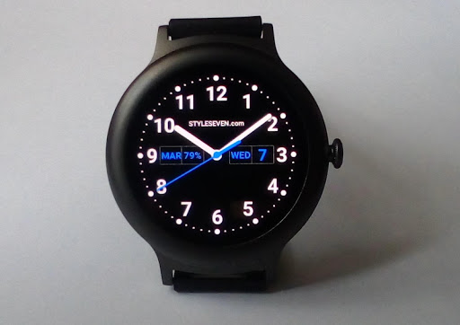 Analog Clock Plus AW-7 PRO app for Android screenshot