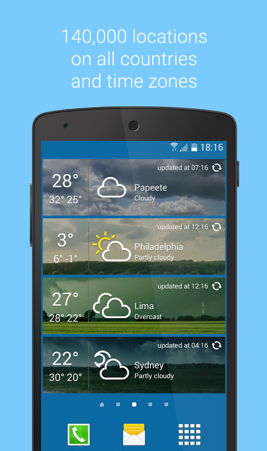 Libero Meteo live - Free weather forecast- screenshot
