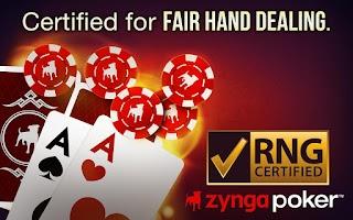 Screenshot of Zynga Poker – Texas Holdem