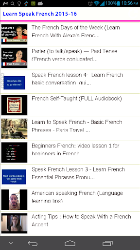 Learn Speak French