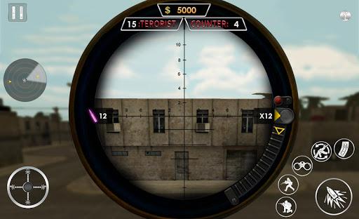 Sniper Gunwar 2019  captures d'écran 1