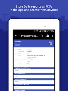 Construction Daily Log App- screenshot thumbnail