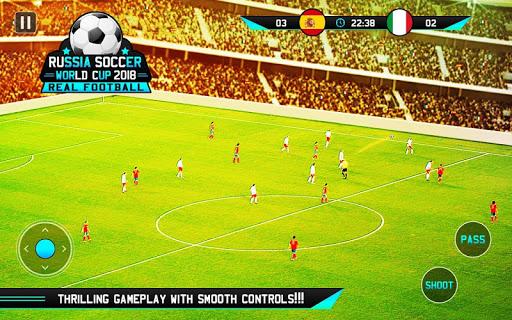 Real Soccer World Cup 2018 Real Football Game 1.0 screenshots 1