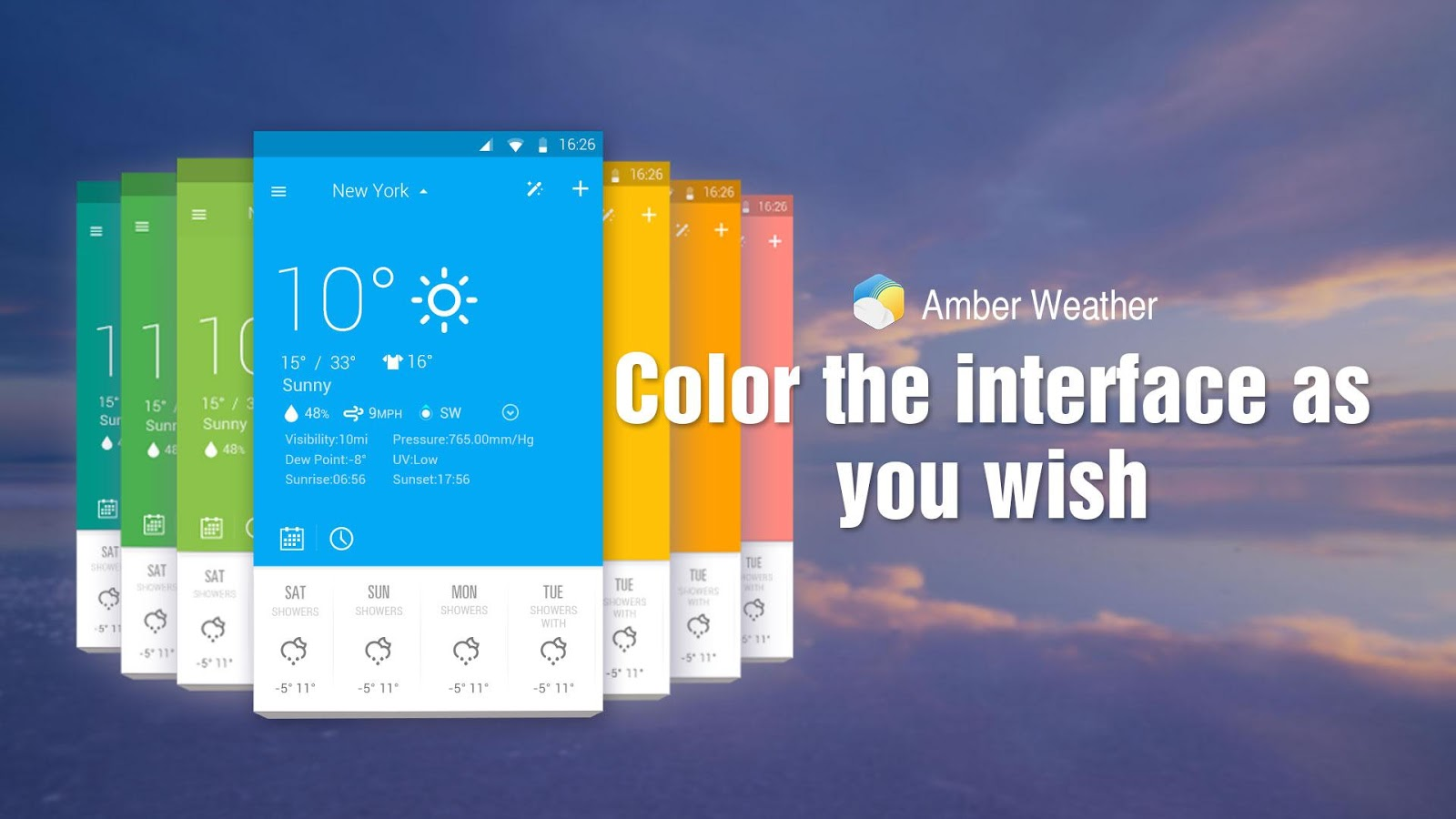 Amber Weather- screenshot