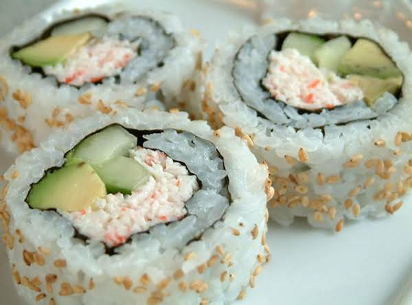 recipe: crab meat sushi filling [6]