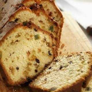 Sugar-free Light Fruit Loaf Cake