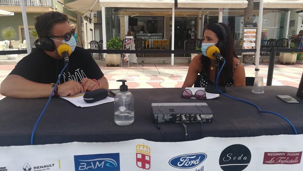 Entrevista a María del Mar García Lorca, concejala de Movilidad y Seguridad.