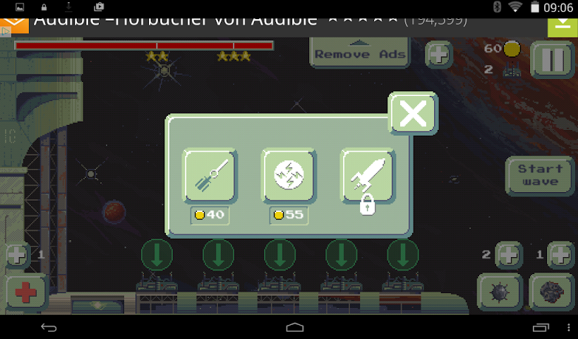 android Space Base TD Screenshot 1