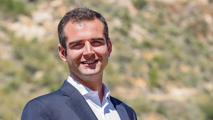 ramón fernández-Pacheco  alcalde de Almería.