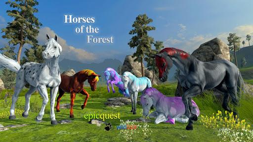 玩免費冒險APP|下載Horses of the Forest app不用錢|硬是要APP