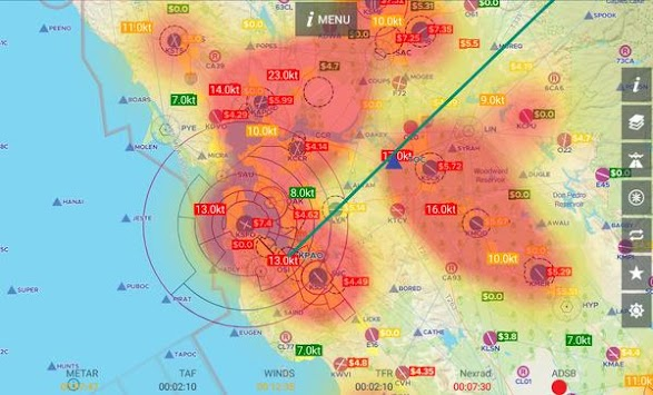 Download AvNav Aviation Maps w Wx Traffic and Terrain APK latest