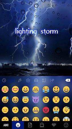 Lighting Storm Kika Keyboard 45.0 screenshot 1272118