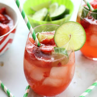Strawberry Limeade Punch.