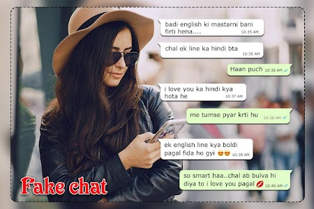 Fake Chat WIth GirlFriend : Fake Conversations 1 0 APK for