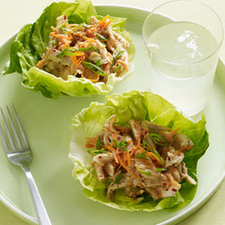 Asian Chicken Salad Lettuce Cups.