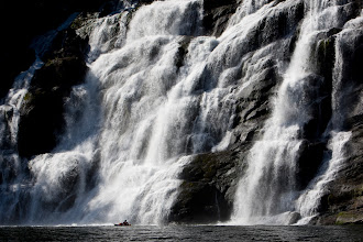 Photo: This is my picture of the same waterfall, in 2008.