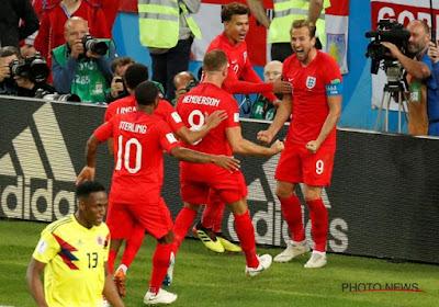 L'Angleterre s'en sort aux tirs au but face à la Colombie !