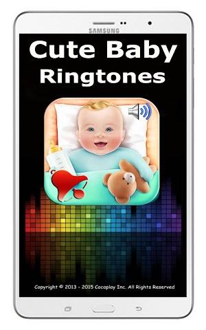 android Cute baby ringtones Screenshot 5