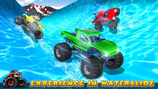 Xtreme Monster Truck Waterslide Race for PC
