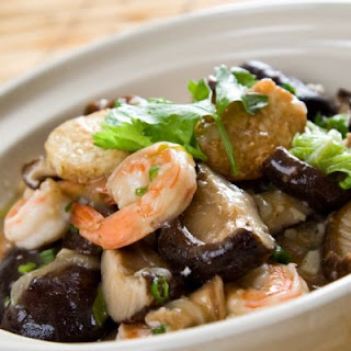Simple Shrimp and Mushroom Casserole