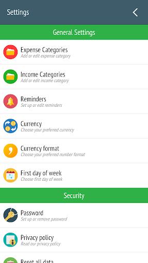 Expense Manager - Tracker  screenshots 7