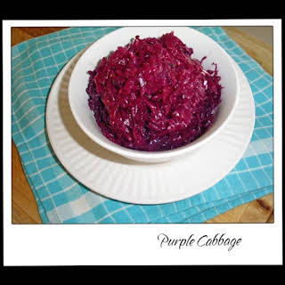 Purple Cabbage Recipes.