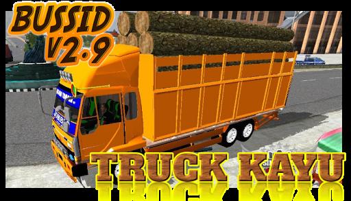 Livery Bussid Mod Truck Kayu 1.5 screenshots 1