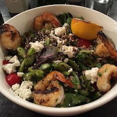 Mediterranean shrimp salad- amazing