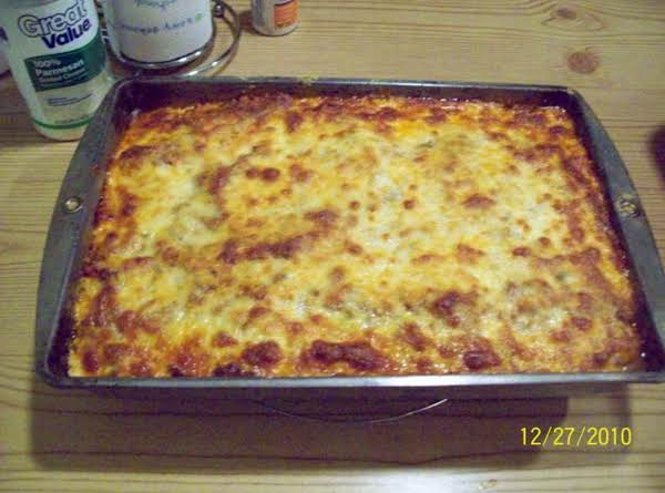 My Favorite Low-fat Lasagna! Recipe
