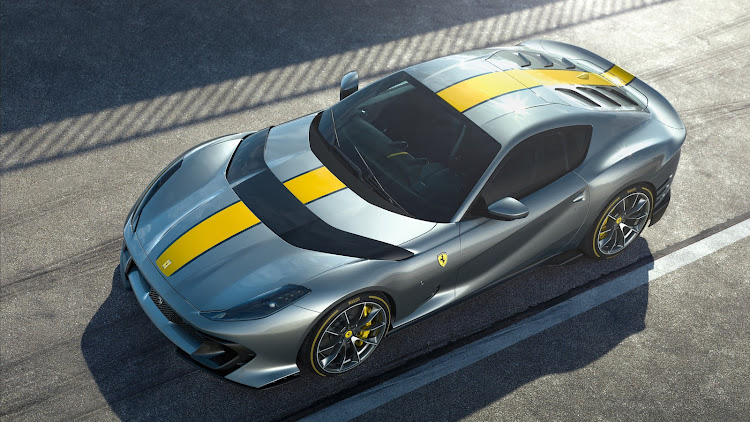 Beneath the new carbon-fibre bonnet blade lies the most powerful production-car V12 in Ferrari's history.