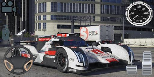 Driving Audi E-Tron GT Car Simulator screenshots 1