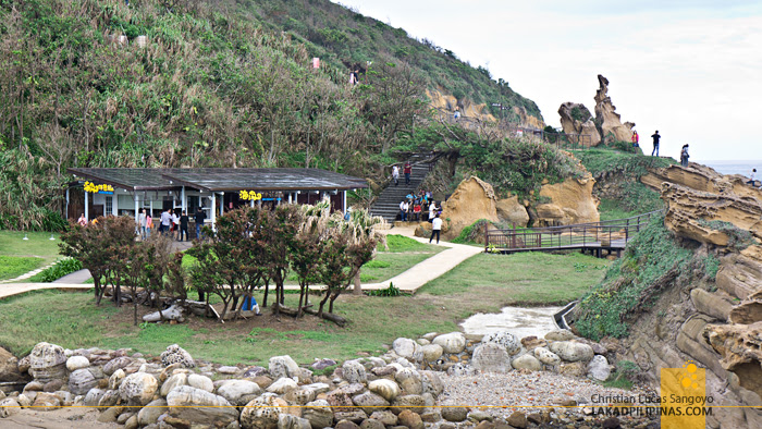 Yehliu Geopark Cafe Hill
