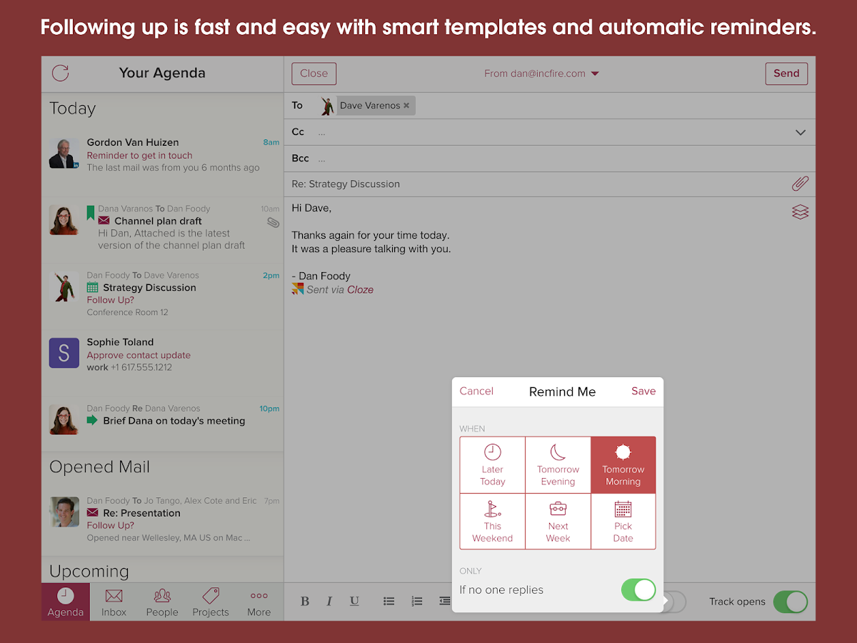 Contacts, Inbox and CRM in One- screenshot