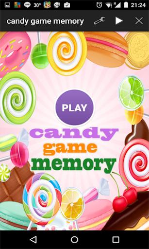 キャンディ子供のゲームメモリ