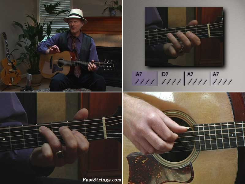 Mark Hanson - How To Play Fingerstyle Blues Guitar Solos