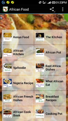 玩免費健康APP|下載African Food Recipes app不用錢|硬是要APP