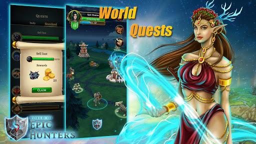 Code Triche World of Epic Hunters apk mod screenshots 2