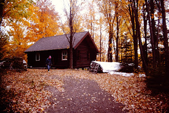 Photo: Cabin, Fall of 1998.