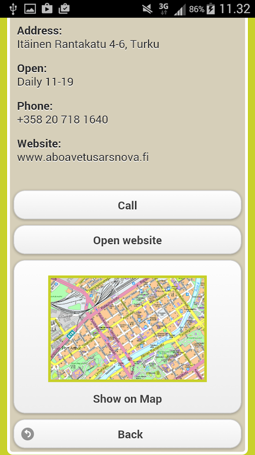 CITY-OPAS Turku & Region- screenshot